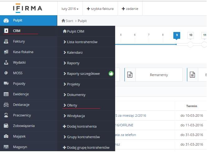 ifirma.pl program do księgowania - sj oferty