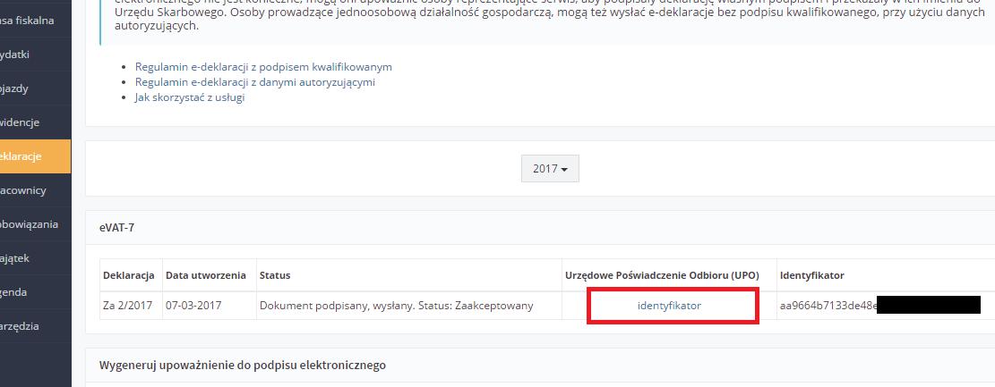 ifirma.pl program do księgowania - upo 1