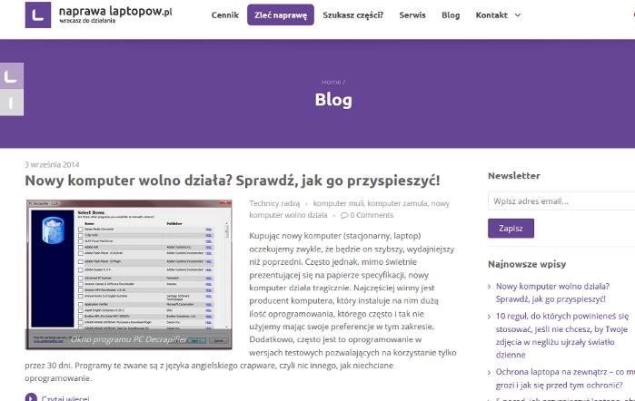 ifirma.pl program do księgowania - naprawa