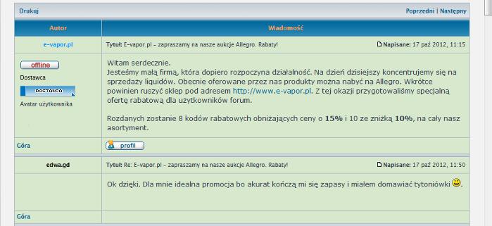 ifirma.pl program do księgowania - papierosy