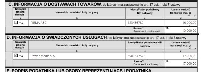 ifirma.pl program do księgowania - vat27 2 1 1