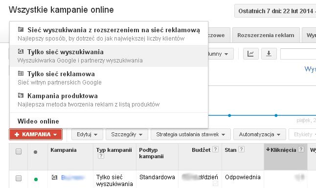 ifirma.pl program do księgowania - adwords sieć reklamowa