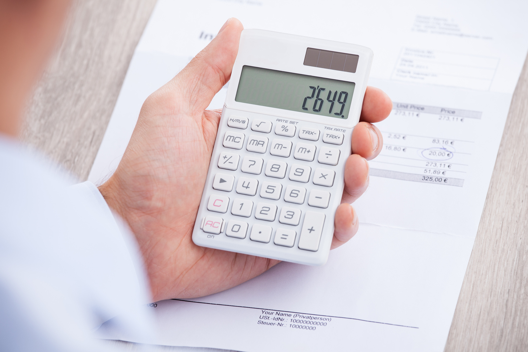Faktura Przed Sprzedażą A Podatki