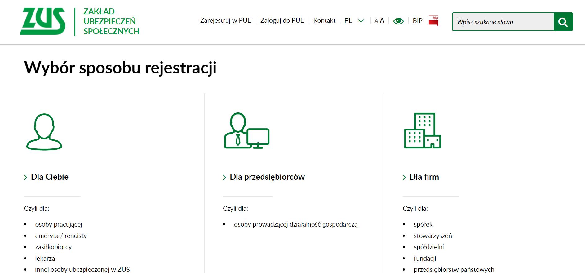 ifirma.pl program do księgowania - zus pue2