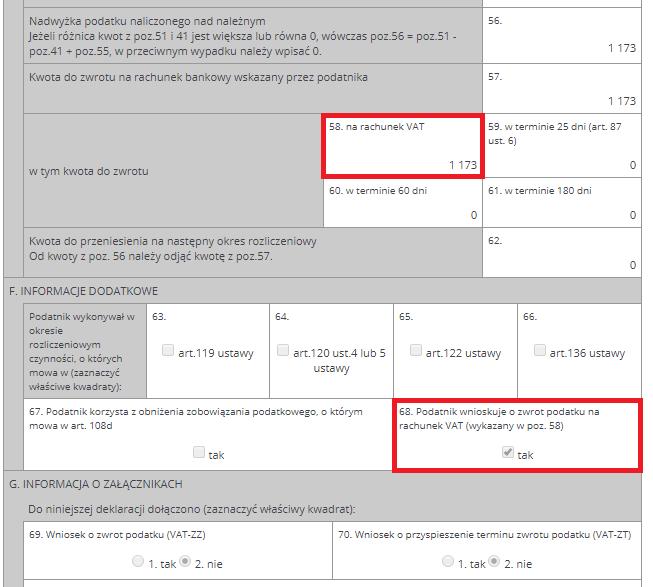 formularz VAT-7/VAT-7K