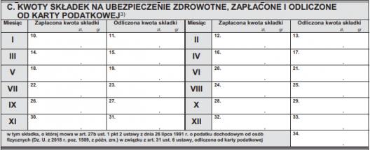 ifirma.pl program do księgowania - PIT 16A 10 528x215