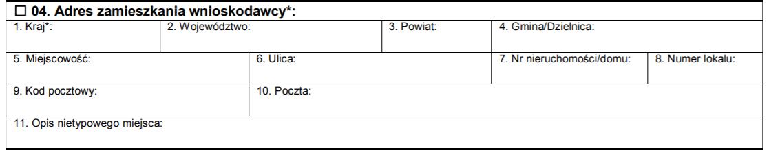 ifirma.pl program do księgowania - adres zamieszkania