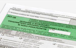 ulgi i odliczenia podatkowe 2020