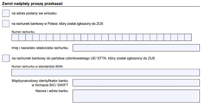 Jak wypełnić wniosek RZS-P - zwrot nienależnie opłaconych składek?