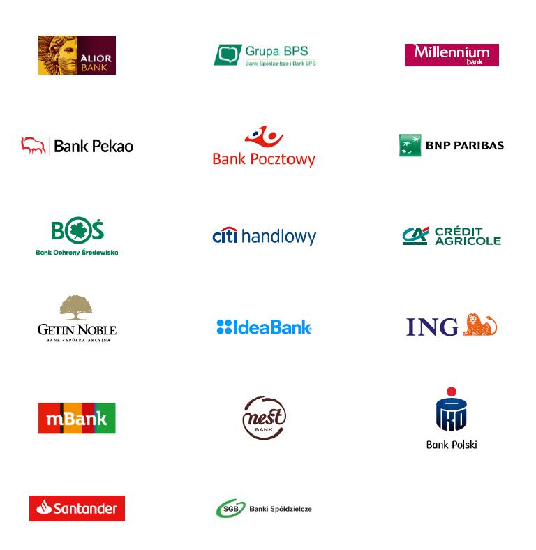Tarcza finansowa PFR - wykaz banków