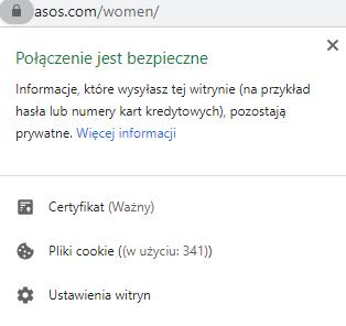 bezpieczeństwo witryny jako element UX