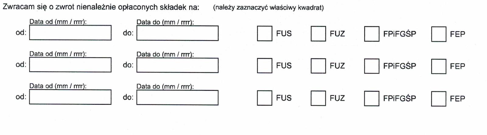 Jak wypełnić wniosek EZS-P przez PUE ZUS ?