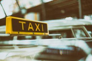 usługi taksówkarskie rozliczane ryczałtem