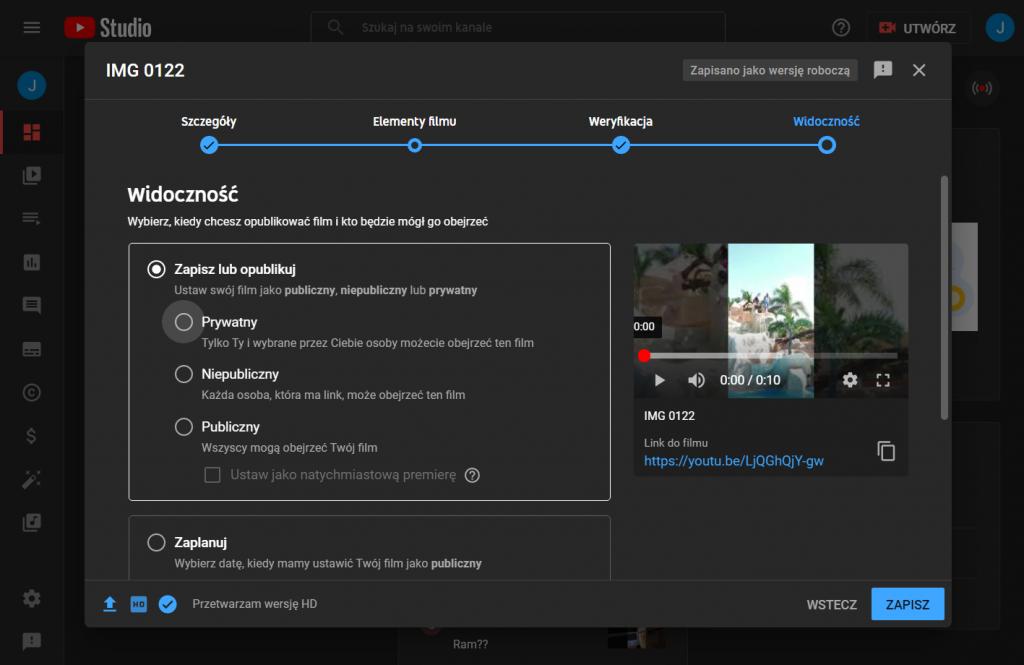 Prowadzenie biznesu na YouTube: YouTube Studio